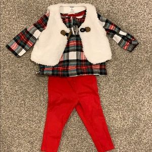Carters 3 piece outfit- 9 mths